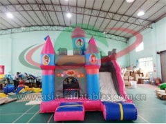Customized Inflatable Cartoon Mini Jumping Castle Combo