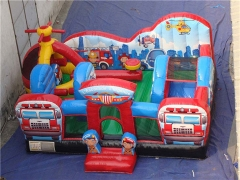 Rescue Squad Inflatable Toddler Playground,Customized Yours Today