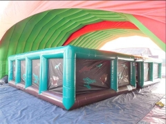 Inflatable Laser Maze