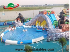 Inflatable Cow Devil Water Park