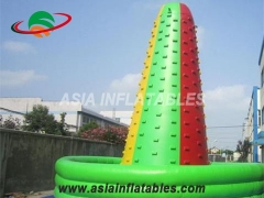 Customized Commercial Colorful Inflatable Interactive Sport Games Inflatable Mountain Climbing Wall,Paintball Field Bunkers & Air Bunkers